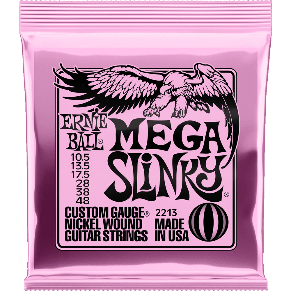 Ernie Ball 2213 Mega Slinky Electric Guitar Strings
