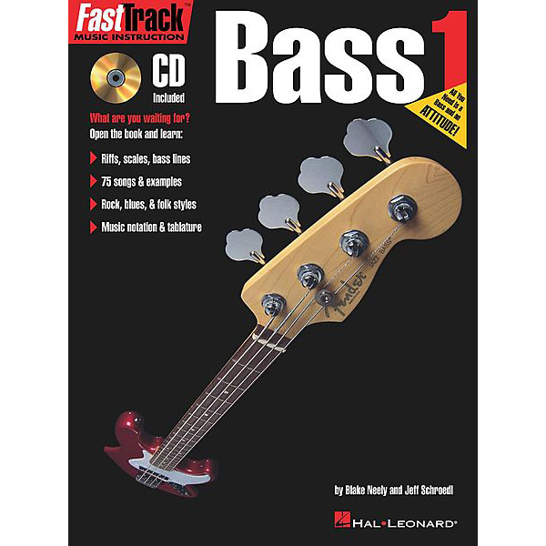 FastTrack Bass Method 1 (Book + CD)
