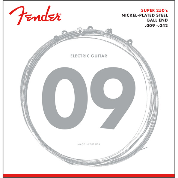 Fender 250L Electric Guitar Strings