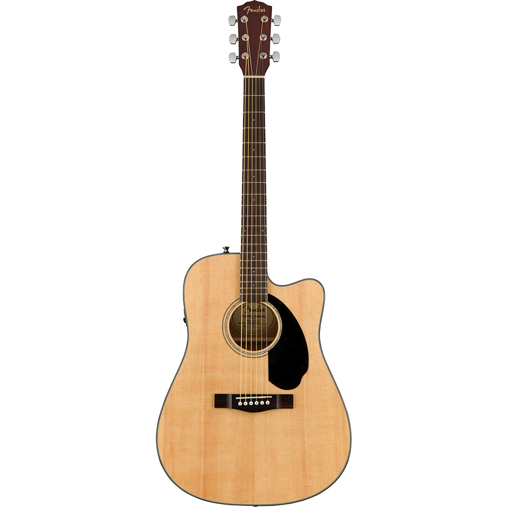 Fender CD-60SCE Natural Solid Top