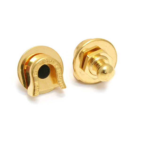 Fender Straplocks Gold (No Button)