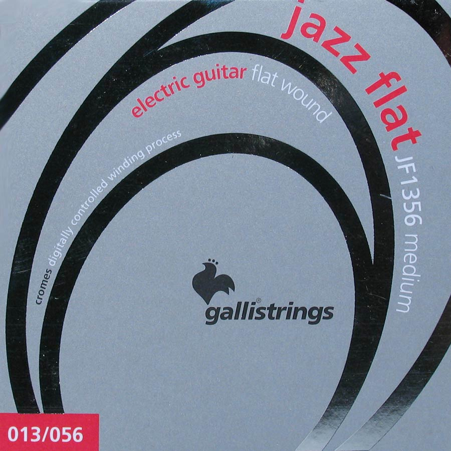 Galli JF1356 Flatwound Electric Guitar Strings 13-56