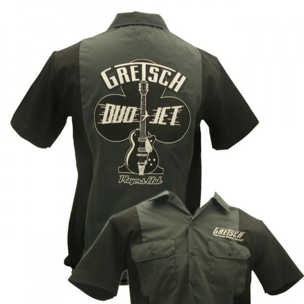 Gretsch Players Club Workshirt (Dickies) Size L