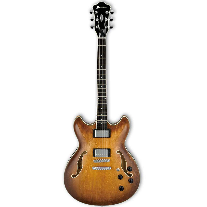 Ibanez AS73-TBC Tobacco Brown Semi Hollow Elektrische Gitaar
