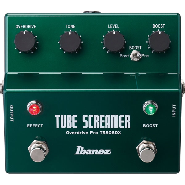 Ibanez TS808DX Tube Screamer Overdrive Pro + Booster