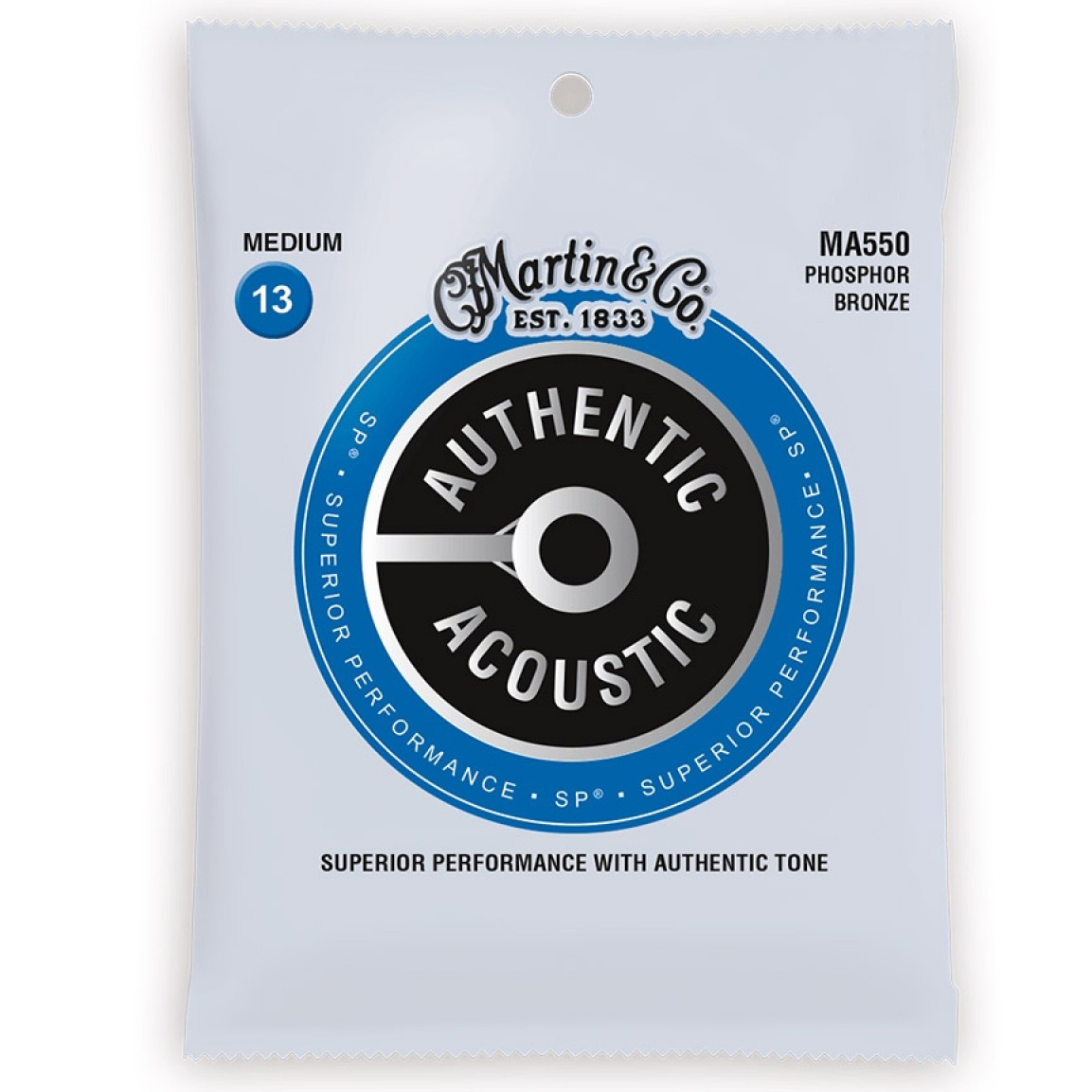 Martin Strings MA550 Authentic Acoustic SP Phosphor Bronze 13-56