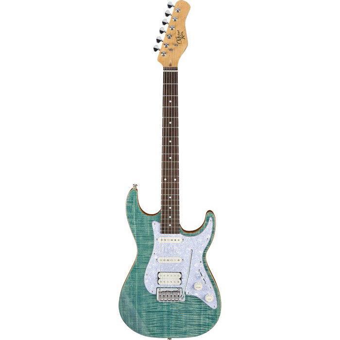 Michael Kelly 1963 Elektrische Gitaar Blue Jean Wash