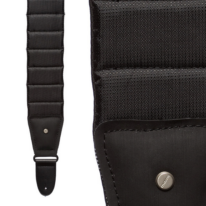 Mono M80 Betty Strap Sharkskin Jet Black Long