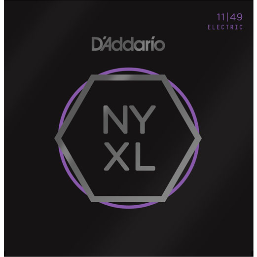 D'Addario NYXL1149 Electric Guitar Strings