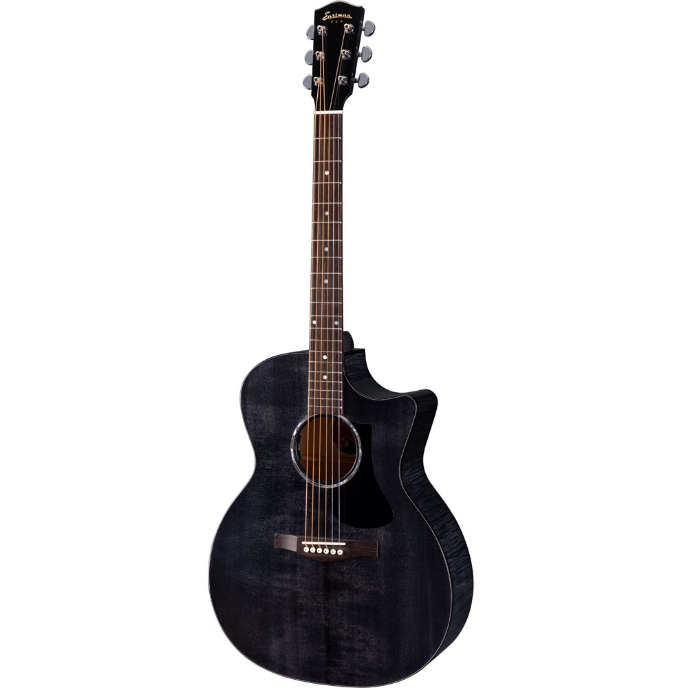 Eastman PCH-3 GACE Transparent Black Acoustic Guitar