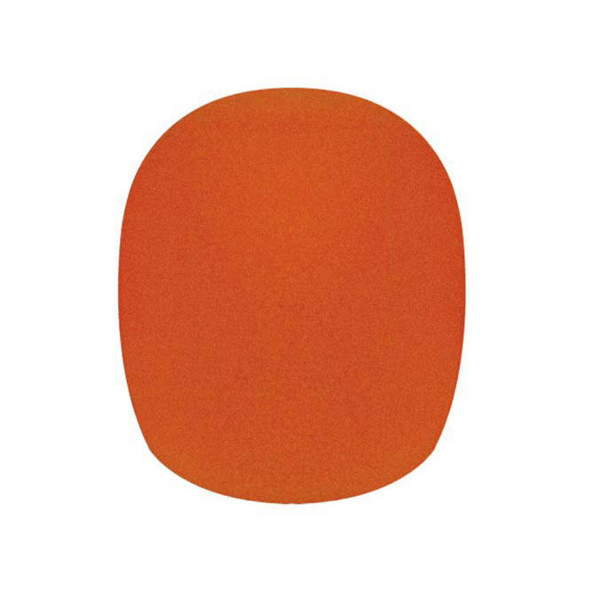 Boston Windscreen Orange Height 68mm ,Diameter 35/65
