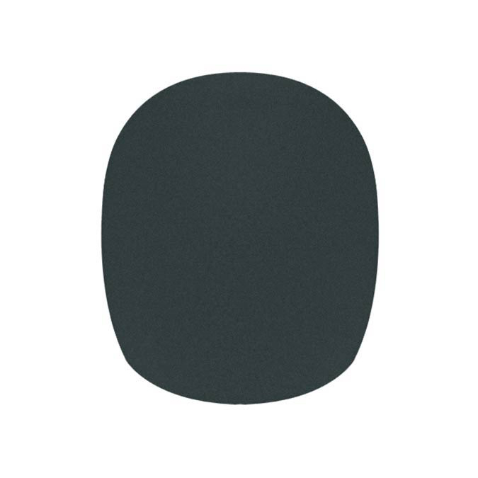 Boston Windscreen Black Height 68mm ,Diameter 35/65