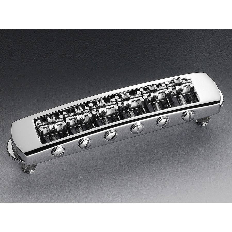 Schaller STM Guitar Roller Bridge Chrome