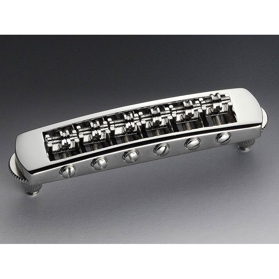 Schaller STM Guitar Roller Bridge Nickel