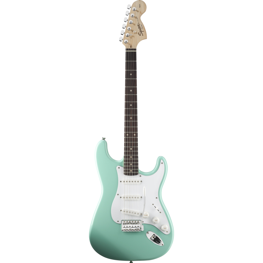 Squier Affinity Stratocaster Surf Green