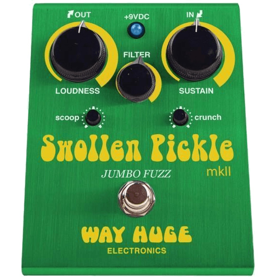Way Huge Swollen Pickle MKlls Jumbo Fuzz Pedal