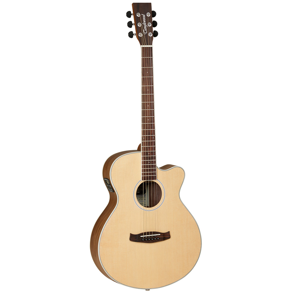 Tanglewood SFCE BW Discovery Acoustic Guitar